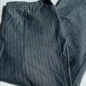 Cato Pinstriped pants